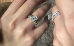 Infinity Band Wedding Rings