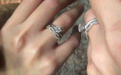 Infinity Band Wedding Rings