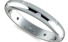 Inset Engagement Rings