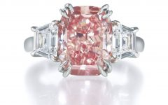 Pink And Diamond Engagement Rings