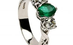 Irish Emerald Engagement Rings