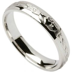 Claddagh Irish Wedding Bands