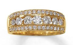 Yellow Gold Anniversary Rings