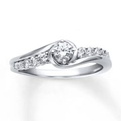 10K Diamond Engagement Rings
