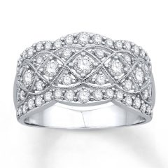 Diamond Anniversary Rings