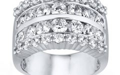 3 Carat Diamond Anniversary Rings