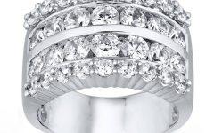 3 Carat Diamond Anniversary Rings