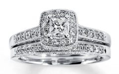 White Gold Diamond Wedding Rings Sets