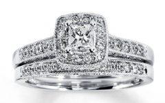 White Gold Diamond Wedding Rings Sets
