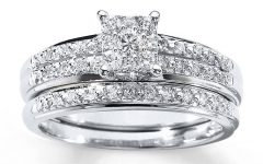 White Gold Diamond Wedding Ring Sets