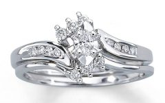 Marquise Cut Diamond Wedding Rings Sets
