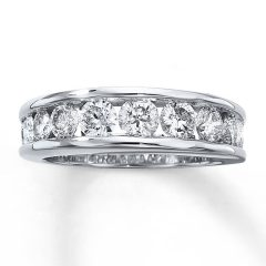 One Carat Diamond Wedding Bands