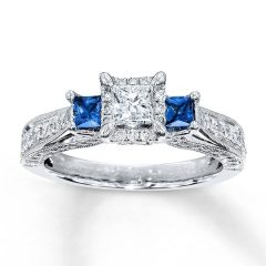 Engagement Rings With Saphires