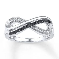 Infinity Symbol Wedding Rings