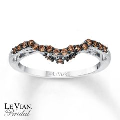 Chocolate Diamond Wedding Bands