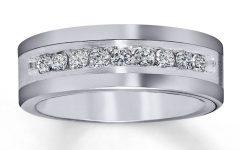 Tungsten Diamond Wedding Rings