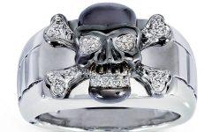 Men's Skull Wedding Bands