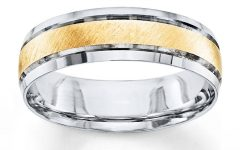 Two Tone Wedding Bands for Him