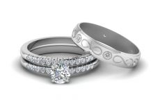 Engagement Ring Sets for Him and Her