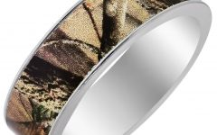 Camouflage Wedding Bands for Him