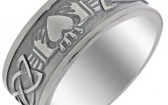 Claddagh Mens Wedding Bands