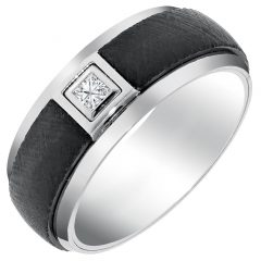 Mens Wedding Bands Comfort Fit