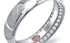 Engagement Rings Inside Wedding Band