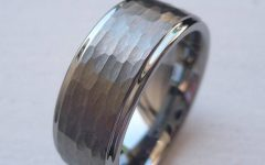Hammered Wedding Bands for Men