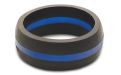 Thin Blue Line Wedding Bands