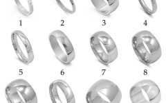Men's Thin Wedding Bands