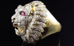 Lion Engagement Rings