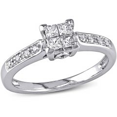 Walmart Princess Cut Engagement Rings
