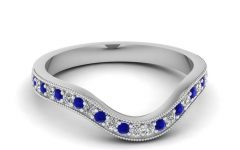 Curved Wedding Bands for Women
