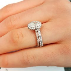 Oval Diamond Engagement Rings And Wedding Bands