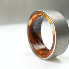 Contemporary Mens Wedding Rings