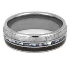 Mother Of Pearl Wedding Bands