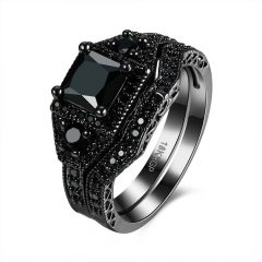 Black Onyx Wedding Bands