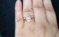 Chevron Wedding Rings