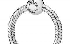 Pandora Moments Small O Pendant Necklaces