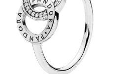 Entwined Circles Pandora Logo & Sparkle Rings