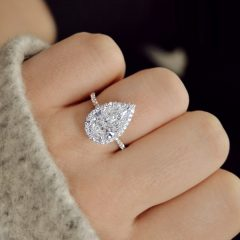 Tryst Pear-Shaped Diamond Engagement Rings