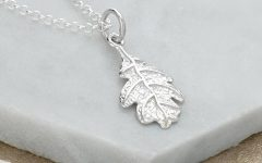 Oak Leaf Necklaces