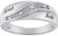 Silver Wedding Bands for Him