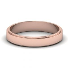 Rose Gold Men Wedding Bands