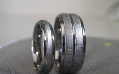 Titanium Lord Of The Rings Wedding Bands