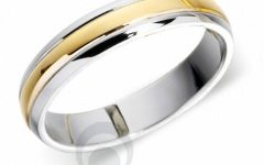 Platinum and Gold Wedding Rings