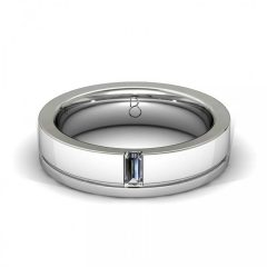 Gents Diamond Wedding Bands