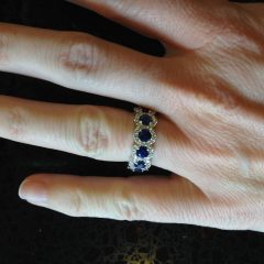 Blue Nile Anniversary Rings