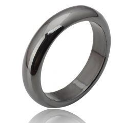 Hematite Wedding Bands