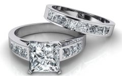 Princess Cut Engagement Rings And Wedding Bands